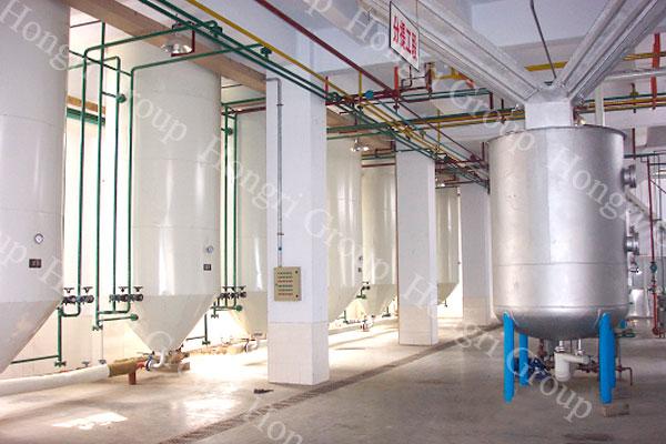 Animal oil fractionation machine