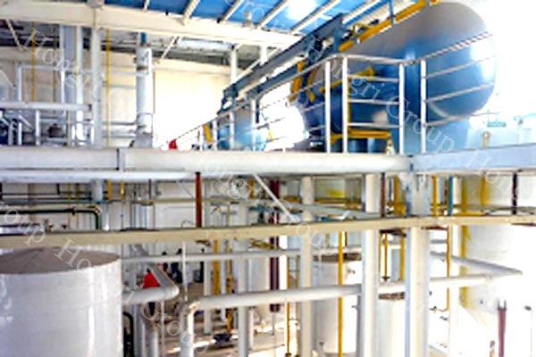 Crude Cotton Seed Oil Refinery Machine
