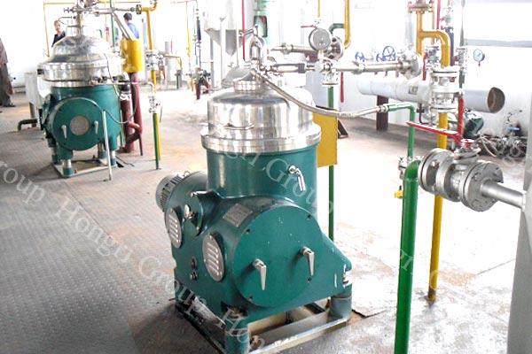 Crude Rice bran oil refining machine
