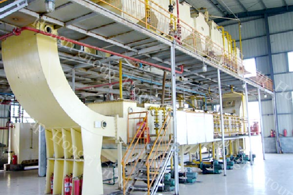 Edible oil solvent extraction plant machine