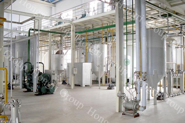 Palm oil Physical refining machine