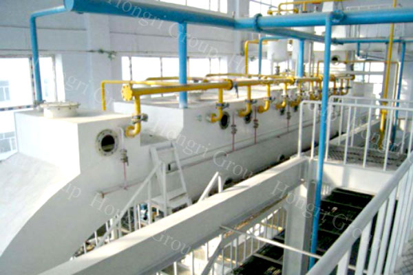 Turnkey Project of Soybean Oil Making Plant