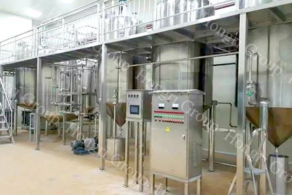 Tea seed oil refinery machine