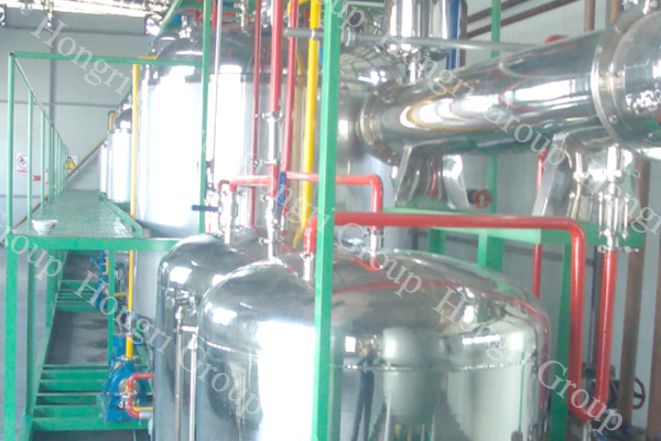 Animal Oil Biodiesel Plant Machine