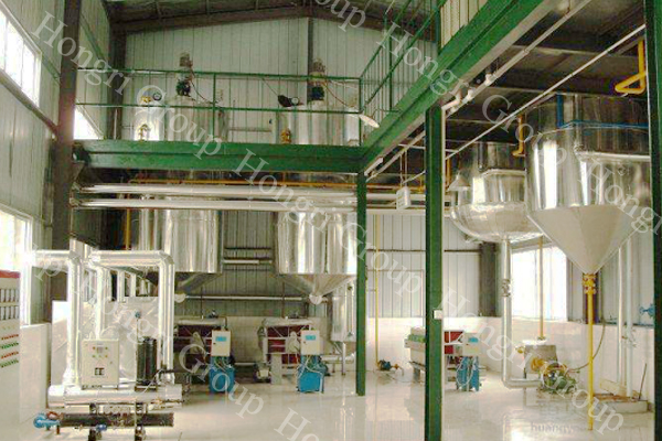 Cotton Seed Oil Turnkey Project