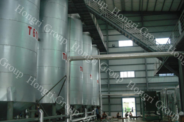 Palm oil fractionation turnkey project