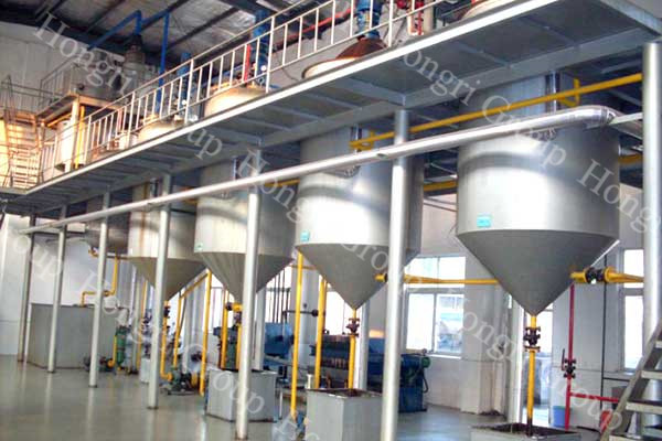 Turnkey Project of Canola Oil Making Plant