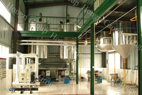 Turnkey Project of Sunflower Oil Making Plant