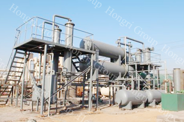 Black Oil Waste Engine Oil Making Diesel Machine